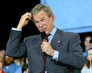Bush_clueless